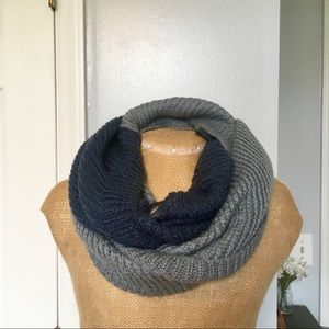 The North Face Infinity Scarf Blue and Gray